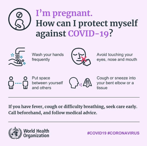 I'm pregnant. How can I protect myself against COVID-19?